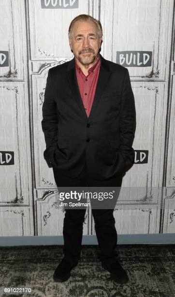 "Actor Brian Cox attends Build to discuss ""Churchill""at Build Studio on May 31, 2017 in New York City."