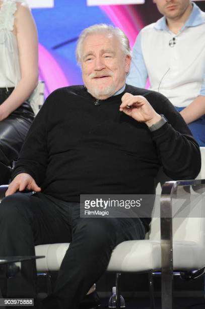 Actor Brian Cox attends HBO Winter TCA 2018 on January 11 2018 in Pasadena California