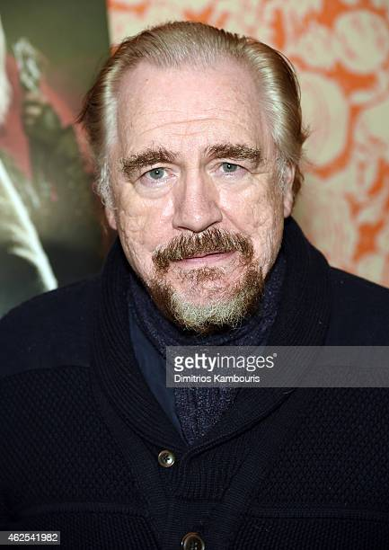 Actor Brian Cox attends Seventh Son special screening at Crosby Street Hotel on January 30 2015 in New York City