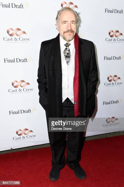 Actor Brian Cox attends the 12th Annual Final Draft Awards at Paramount Theatre on February 23 2017 in Hollywood California
