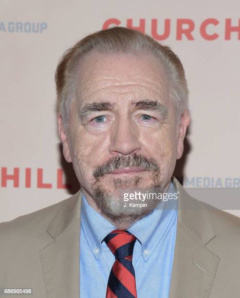 Actor Brian Cox attends the Churchill New York Premiere at the Whitby Hotel on May 22 2017 in New York City