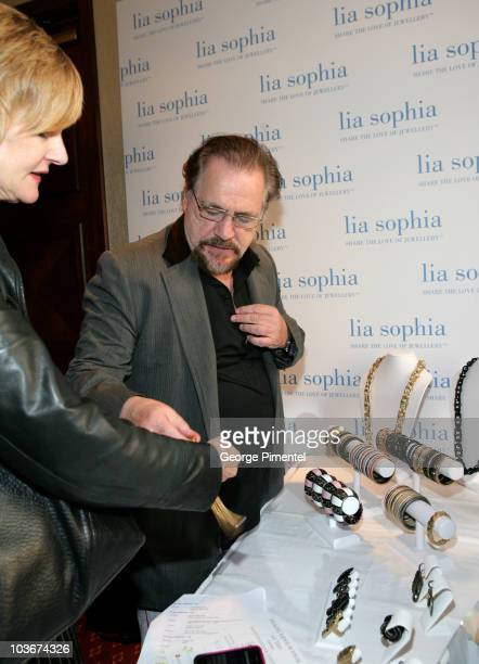 Actor Brian Cox attends the Lia Sophia Gift Lounge at the Intercontinental Hotel on September 12 2009 in Toronto Canada