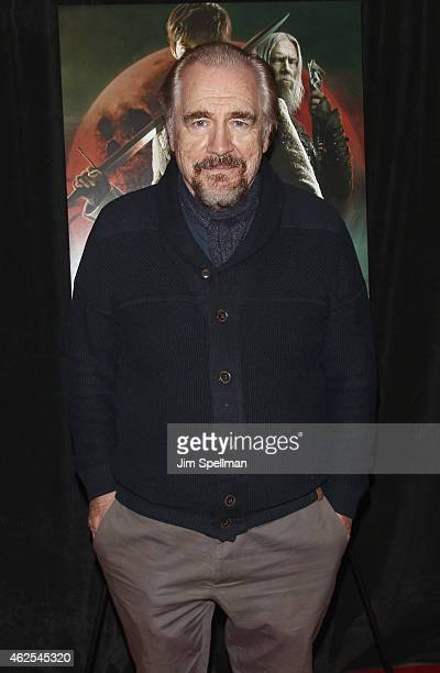 Actor Brian Cox attends the Seventh Son special screening at Crosby Street Hotel on January 30 2015 in New York City