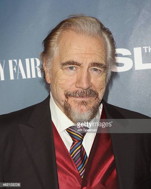 Actor Brian Cox attends The Slap premiere party at The New Museum on February 9 2015 in New York City