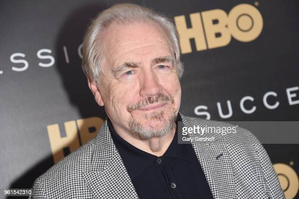 Actor Brian Cox attends the 'Succession' New York premiere at Time Warner Center on May 22, 2018 in New York City.
