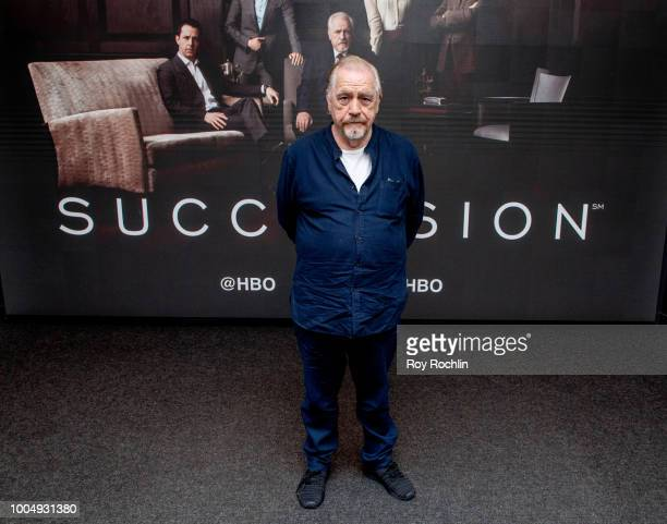 Actor Brian Cox discusses the HBO show Succession during SAGAFTRA Foundation Conversations Succession at The Robin Williams Center on July 24 2018 in...