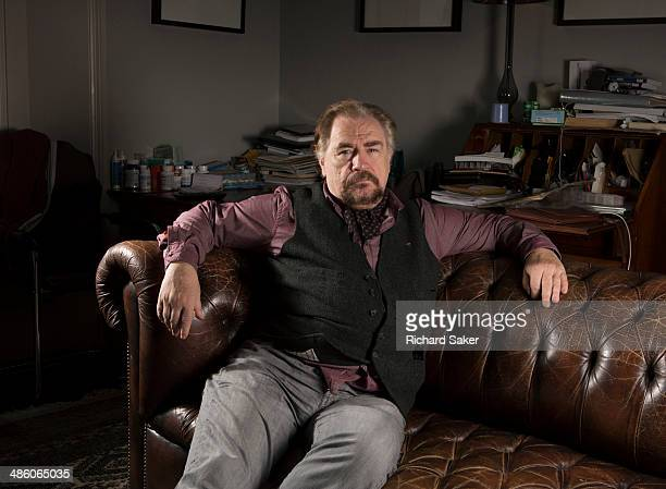 Actor Brian Cox is photographed for the Observer on February 18 2014 in London England