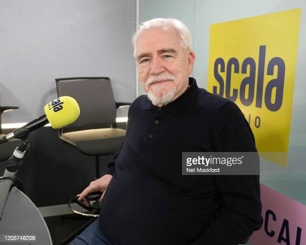 Actor Brian Cox joins Simon Mayo at Scala Radio on February 12 2020 in London England