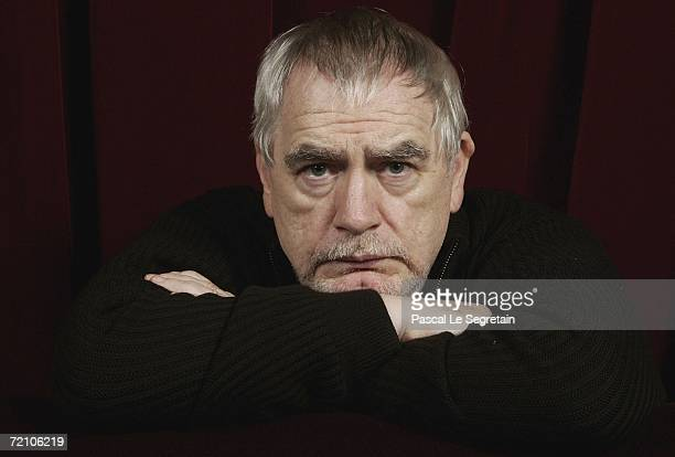 Actor Brian Cox poses during a portrait session at the 17th British Film Festival on October 6 2006 in Dinard France