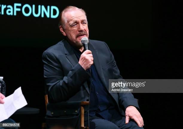 Actor Brian Cox speaks after the SAGAFTRA Foundation Churchill screening at SAGAFTRA Foundation Robin Williams Center on May 30 2017 in New York City