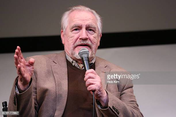 Actor Brian Cox talks during a QA at the New York Premiere of The Autopsy Of Jane Doe at The Film Society of Lincoln Center on December 6 2016 in New...