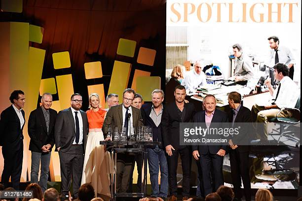 Actor Brian d'Arcy James actor Michael Keaton actor Michael Cyril Creighton actor Rachel McAdams casting director Kenny Barden writer/director Tom...