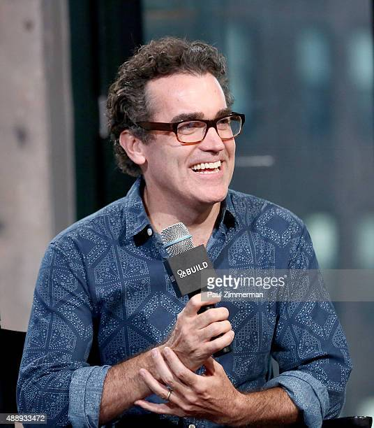 Actor Brian d'Arcy James attends AOL Buil speaker series at AOL Studios In New York on September 18, 2015 in New York City.