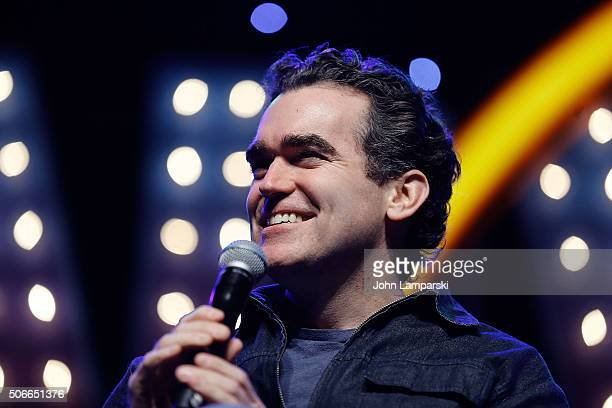 Actor Brian d'Arcy James attends BroadwayCon 2016 at the Hilton Midtown on January 24 2016 in New York City
