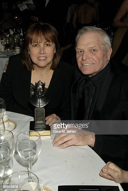 Actor Brian Dennehy and wife Jennifer Arnott attend the Laurence Olivier Awards at the London Hilton on February 26, 2006 in London, England. The...