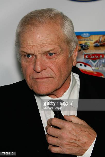 Actor Brian Dennehy arrives at the 'Ratatouille' and 'Cars' DVD Release Party at Social Hollywood on October 30, 2007 in Hollywood, California.