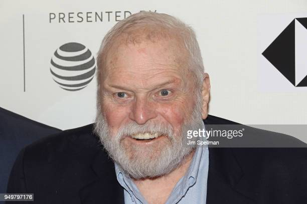 "Actor Brian Dennehy attend the premiere of ""The Seagull"" during the 2018 Tribeca Film Festival at BMCC Tribeca PAC on April 21, 2018 in New York City."