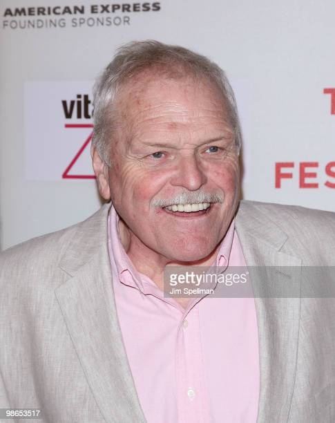 "Actor Brian Dennehy attends the ""Every Day"" premiere during the 9th Annual Tribeca Film Festival at the Tribeca Performing Arts Center on April 24,..."