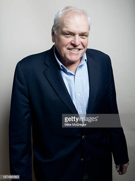 Actor Brian Dennehy is photographed for Self Assignment on September 11, 2012 in New York City.