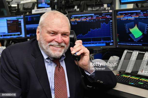 Actor Brian Dennehy participates in Annual Charity Day hosted by Cantor Fitzgerald, BGC and GFI at Cantor Fitzgerald on September 11, 2017 in New...