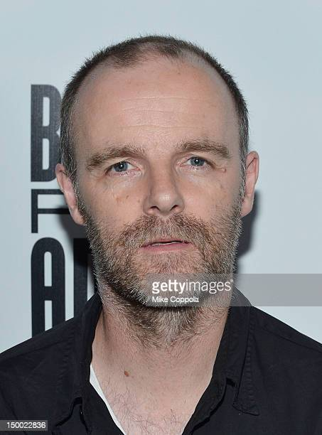Actor Brian F O Byrne attends Bullet For Adolf Off Broadway Opening Night at New World Stages on August 8 2012 in New York City