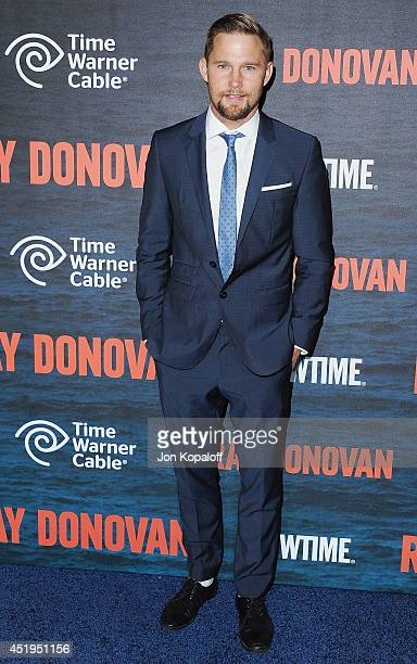 Actor Brian Geraghty arrives at Showtime's Original Series Ray Donovan Season 2 Premiere at Nobu Malibu on July 9 2014 in Malibu California