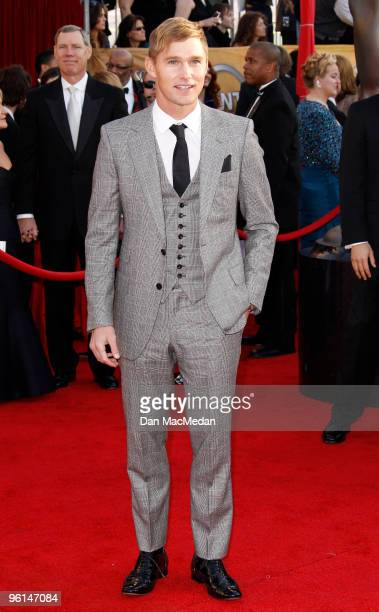 Actor Brian Geraghty arrives at the 16th Annual Screen Actors Guild Awards held at the Shrine Auditorium on January 23 2010 in Los Angeles California