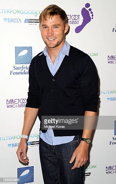 Actor Brian Geraghty arrives at The Surfrider Foundation's 25th Anniversary Gala at California Science Center's Wallis Annenberg Building on October...