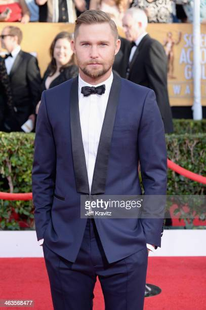 Actor Brian Geraghty attends the 20th Annual Screen Actors Guild Awards at The Shrine Auditorium on January 18 2014 in Los Angeles California