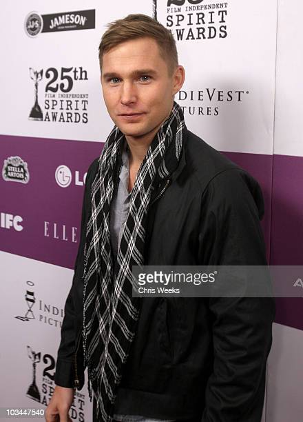 Actor Brian Geraghty attends the 25th Independent Spirit Awards Hosted By Jameson Irish Whiskey held at Nokia Theatre LA Live on March 5 2010 in Los...