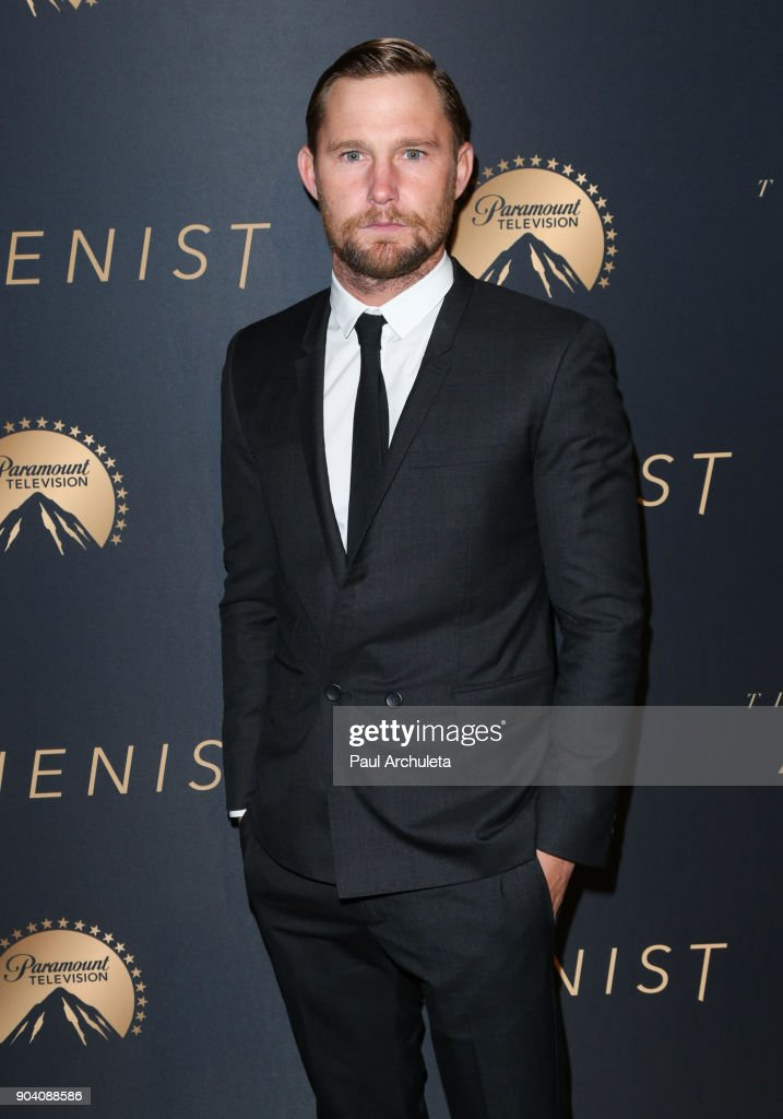 Actor Brian Geraghty attends the premiere of TNT's 'The Alienist' at The Paramount Lot on January 11, 2018 in Hollywood, California.