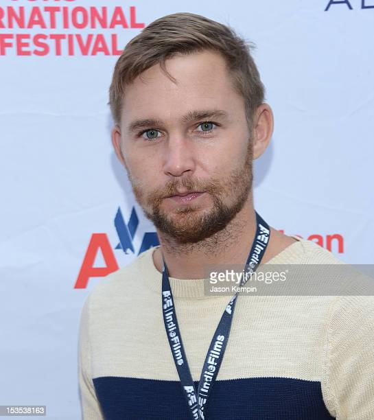 Actor Brian Geraghty attends the screening of Refuge during the 20th Hamptons International Film Festival at United Artists Regal Cinema on October 6...