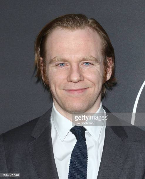 Actor Brian Gleeson attends the 'Phantom Thread' New York premiere at Harold Pratt House on December 11 2017 in New York City