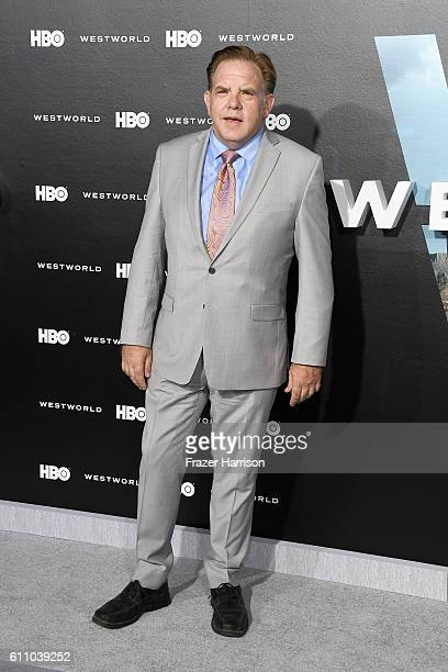Actor Brian Howe attends the premiere of HBO's Westworld at TCL Chinese Theatre on September 28 2016 in Hollywood California