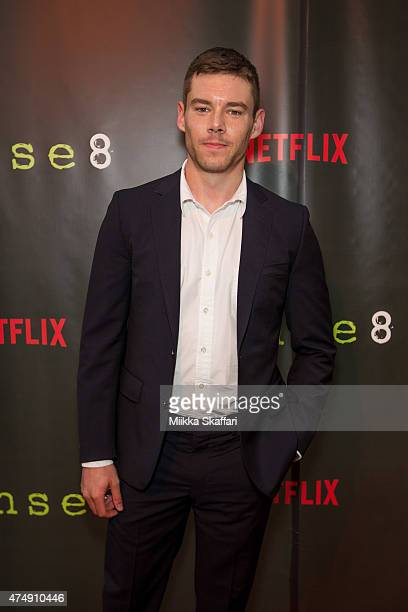 Actor Brian J Smith arrives at the Premiere of 'Sense8' at AMC Metreon 16 on May 27 2015 in San Francisco California