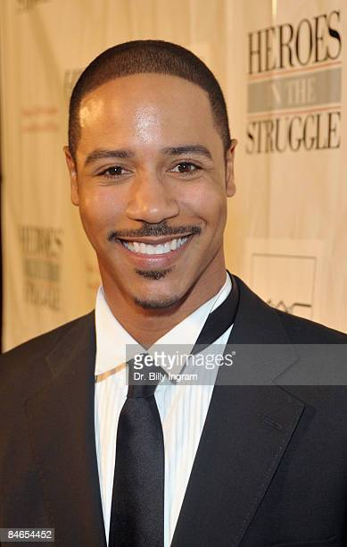 Actor Brian J White arrives at the 8th Annual Heroes In The Struggle Gala at the Walt Disney Concert Hall on February 4 2009 in Los Angeles California