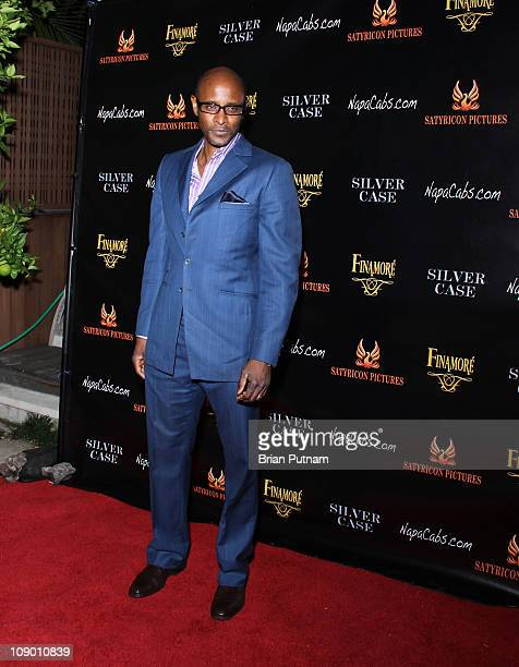 Actor Brian Keith Gamble attends the Wrap Party for the film 'Silver Case' on January 15 2011 in West Hollywood California