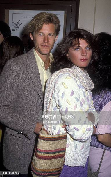 Actor Brian Kerwin and Meg Foster attend ABC TV Affiliates Party on May 9 1983 at the Century Plaza Hotel in Century City California