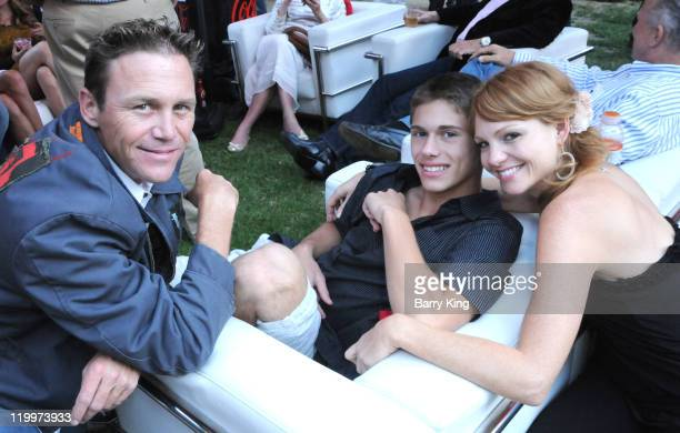 Actor Brian Krause actor Jamen Krause and actress Anne Leighton attend the Los Angeles Philharmonic and Venice Magazine's 11th Annual Hollywood Bowl...