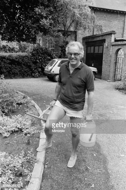 Actor Brian Rix working in his garden he is to be the new General Secretary of National Society of Mentally Handicapped Children 8th June 1980