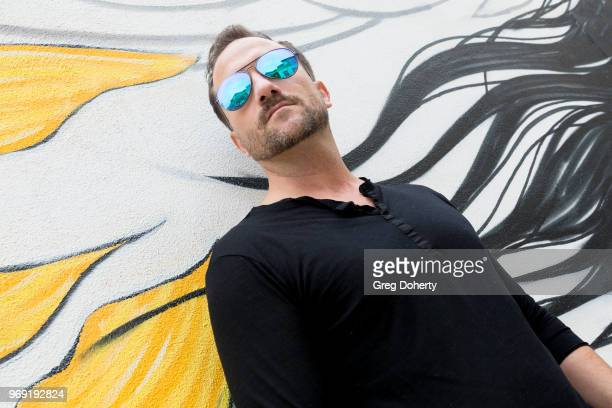 Actor Brian Rodda showcases Foster Grant Sunglasses at the Giveback Day at TAP The Artists Project on June 6 2018 in Los Angeles California