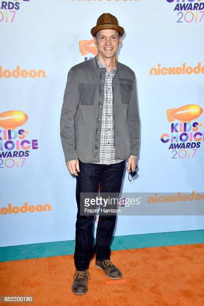 Actor Brian Stepanek at Nickelodeon's 2017 Kids' Choice Awards at USC Galen Center on March 11 2017 in Los Angeles California