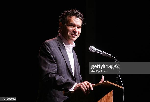 Actor Brian Stokes Mitchell attends the 66th Annual Theatre World Awards at New World Stages on June 8 2010 in New York City