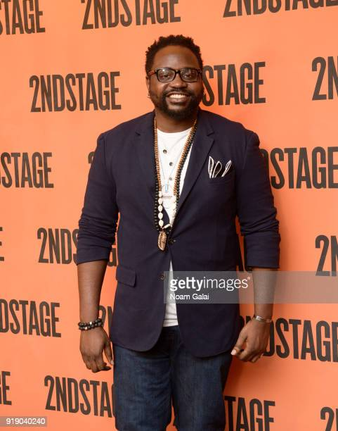 Actor Brian Tyree Henry attends the 'Lobby Hero' cast meet and greet at Sardi's on February 16 2018 in New York City