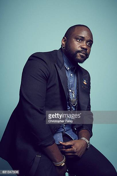 Actor Brian Tyree Henry poses for a portrait 2017 Film Independent filmmaker grant and Spirit Award nominees brunch at BOA Steakhouse on January 7,...