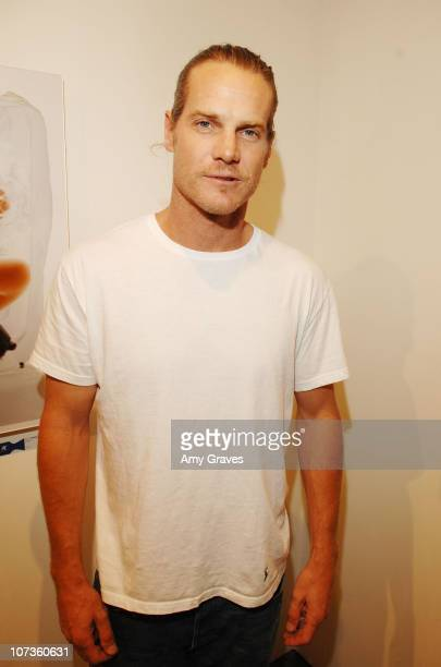 Actor Brian Van Holt attends the Privacy Exhibit at The Red House Gallery on October 6 2007 in Venice California