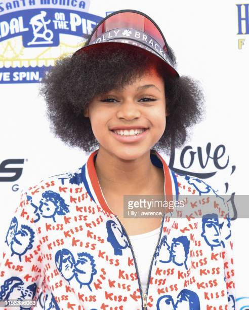 Actor Briana Roy attends Pedal On The Pier at Santa Monica Pier on June 02 2019 in Santa Monica California