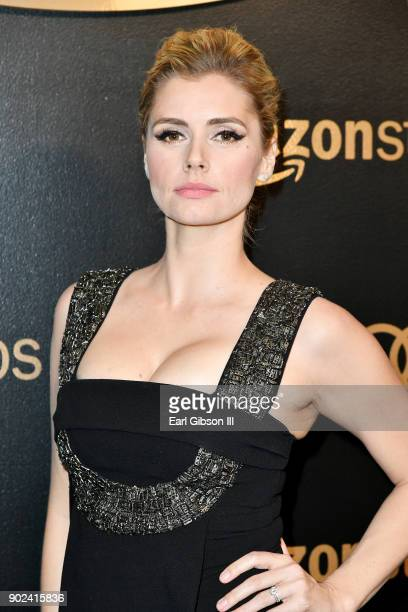 Actor Brianna Brown attends Amazon Studios' Golden Globes Celebration at The Beverly Hilton Hotel on January 7 2018 in Beverly Hills California
