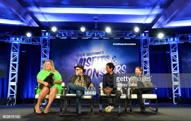 Actor Bridget Everett, Creator/writer/director Bobcat Goldthwait, Actors Danny Pudi and Seth Green of 'Bobcat Goldthwait's Misfits & Monsters' speak...