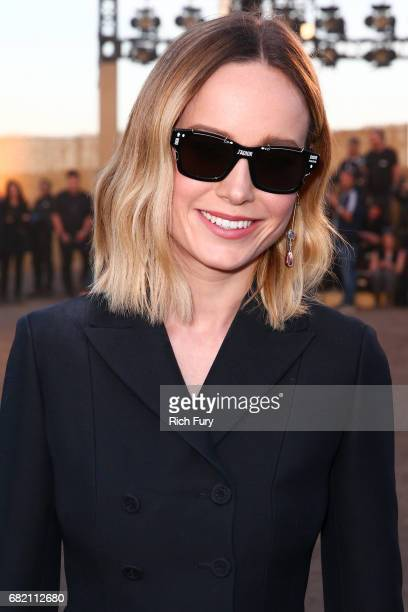 Actor Brie Larsen attends the Christian Dior Cruise 2018 Runway Show at the Upper Las Virgenes Canyon Open Space Preserve on May 11 2017 in Santa...